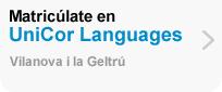 Matricúlate en UniCor Languages