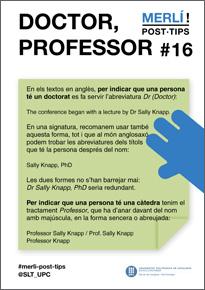 doctor, professor