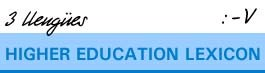Higher Education Lexicon A