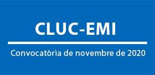 CLUC-EMI. Convocatòria de novembre de 2020