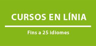 Inscripció oberta als cursos d'idiomes en línia