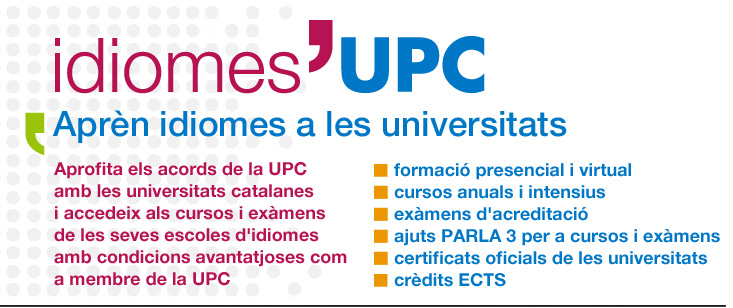 Programa d'idiomes de la UPC