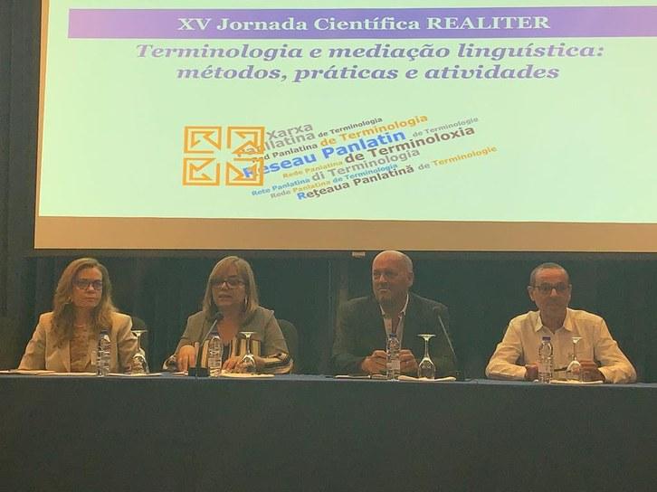 XV Jornada Científica REALITER