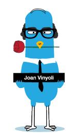 Joan Vinyoli blanc