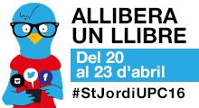 Concurs Allibera un llibre! #StJordiUPC16