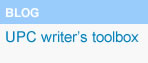 Blog Writer's Toolbox, (open link in a new window)