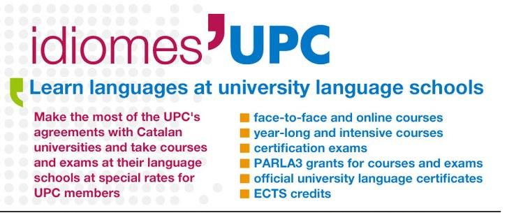 Idiomes UPC