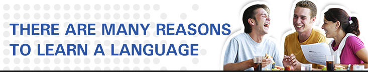 There are many reasons to learn a language