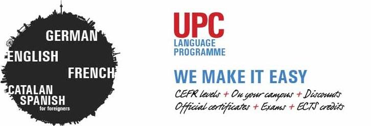 UPC Language Programme. We make it easy campus