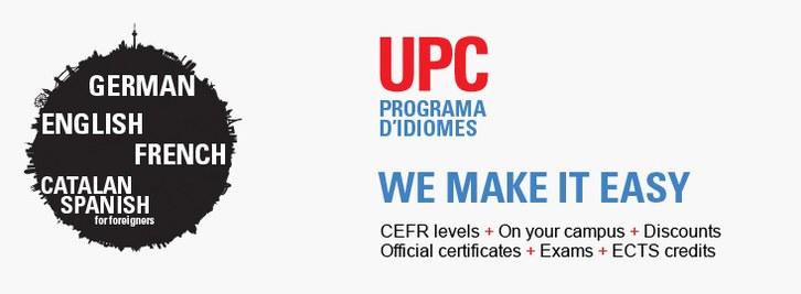 UPC Language Programme. We make it easy
