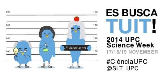 Es busca tuit! #CiènciaUPC