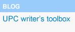 UPC Writer's Toolbox, (abre en ventana nueva)