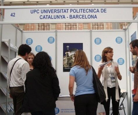 La UPC a la Feria Internacional de Estudios de Postgrados de Xile