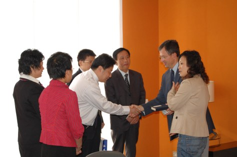 Visites institucionals a la UPC