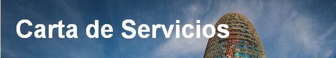 Carta de Servicios, (abre en ventana nueva)